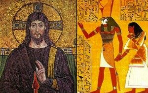 Was Jesus based on the pagan deity Horus?