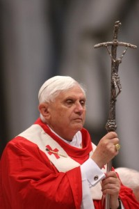 Pope Benedict XVI Conducts Vatican Ordination