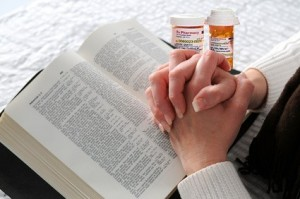 Can you receive medical treatment when you're sick? Or does that indicate a lack of faith?
