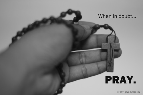 Is it okay to pray when you have doubts about God?