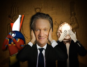 Horus, Bill Maher, and Gerald Massey