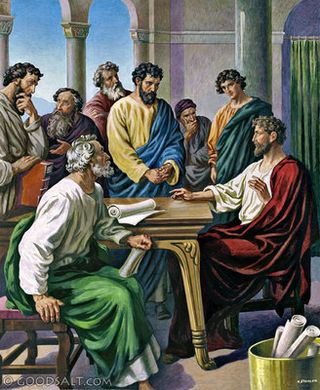 the jerusalem visits in acts and Introduction to galatians  gal 1  we know of other follow up visits (acts 16:6  (coinciding with the conclusion of the conference at jerusalem about some.