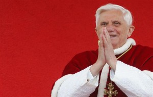 Would you like to express your love and gratitude to Pope Benedict for his service to the Church? Here is a way you can do it.
