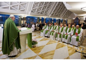 pope francis daily homily