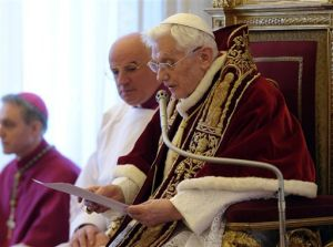Pope Benedict has announced his resignation from the papacy. What popes have done this before, and how has it changed the Church?